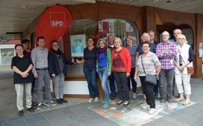 SPD-Ortsverein lässt sich informieren