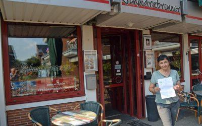 50. Partner der Kampagne: Gaststätte Schwarzbrenner