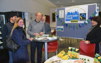 """Fairtrade beim """"Ausbildungstag"""" des BK"""