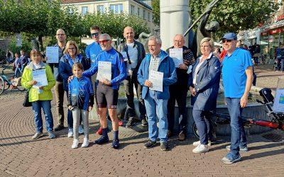 Stadtradeln-Siegerehrung: Fairtrade-Fietsers belegen 3. Platz
